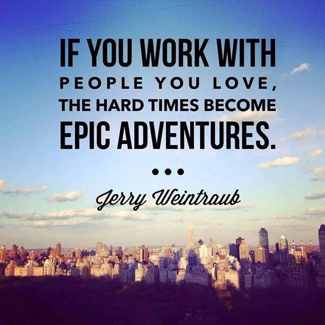 I believe this applies well in our #dragonboat #adventures. If you work with people you love. The hard times become epic adventures.